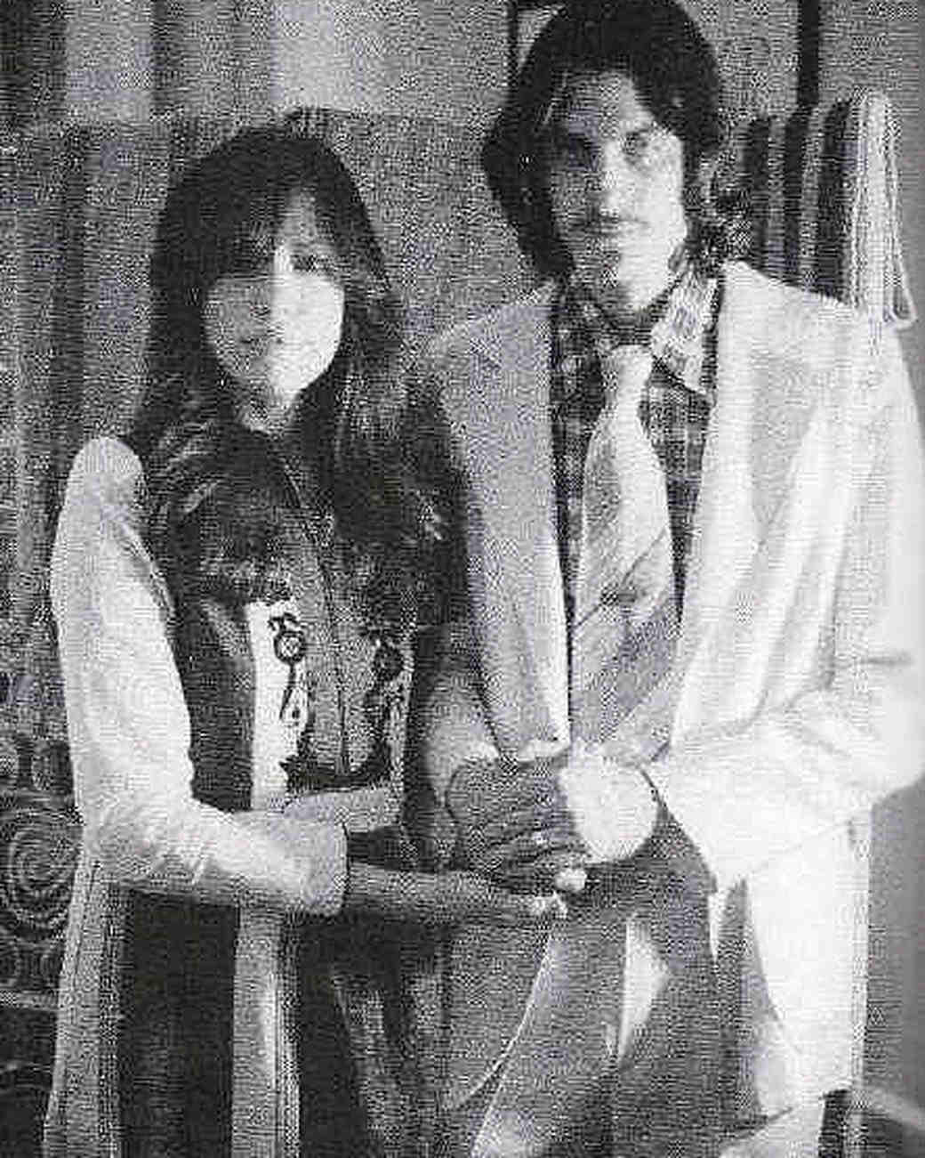 Carly Simon and James Taylor Wedding Photo