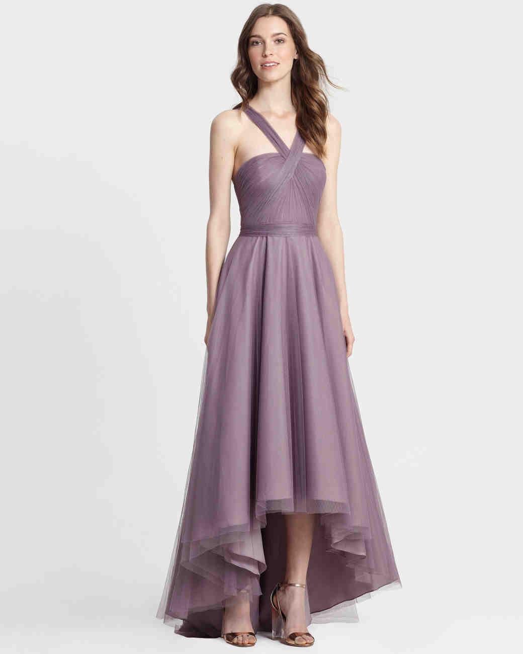 Purple bridesmaids dresses vosoi purple bridesmaid dresses martha stewart weddings ombrellifo Choice Image