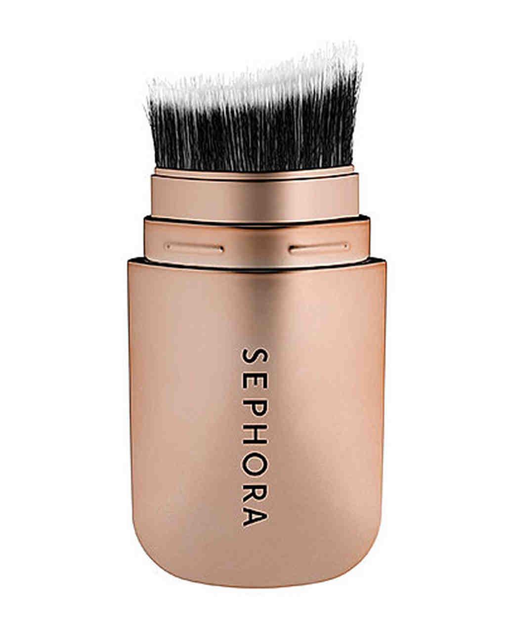 rose gold sephora hide sleek skinny cheek contour brush