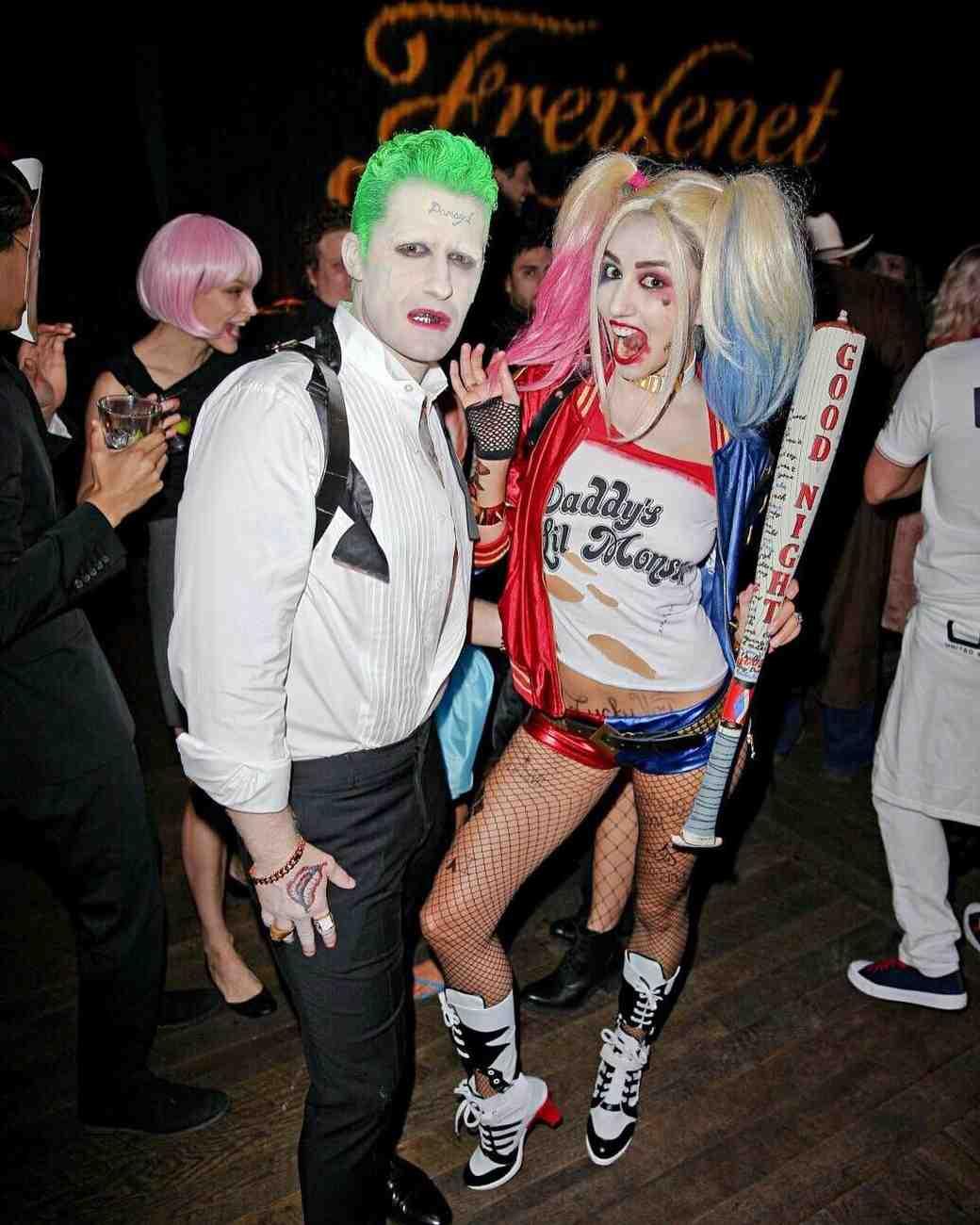 Matthew Morrison and Renee Puente Halloween 2016 Couples Costume