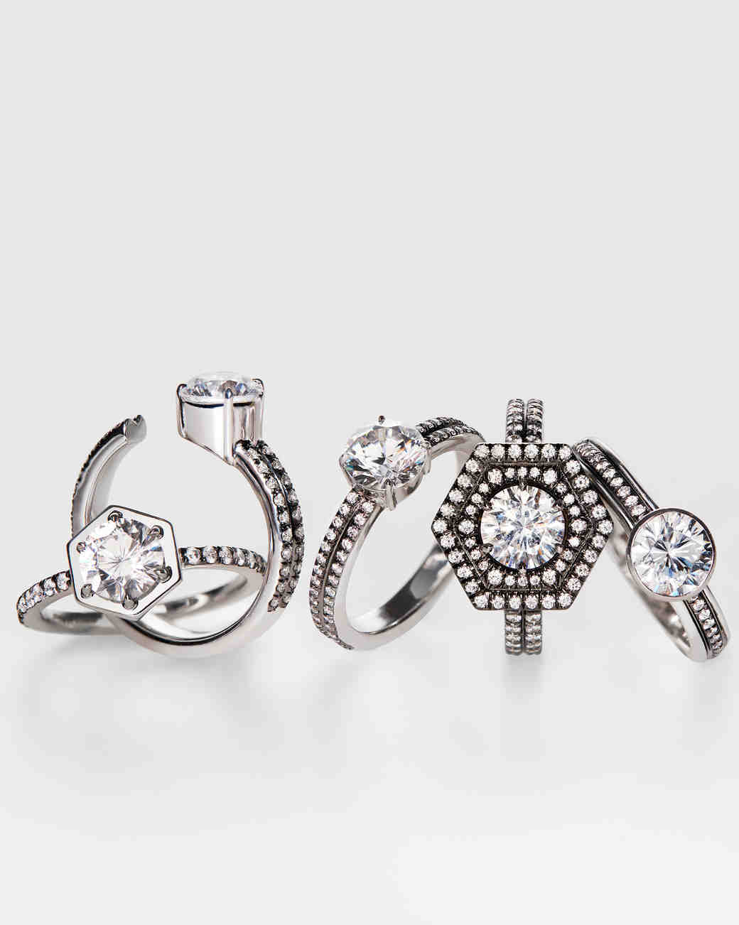 Modern Engagement Rings from Jemma Wynne x Stone & Strand