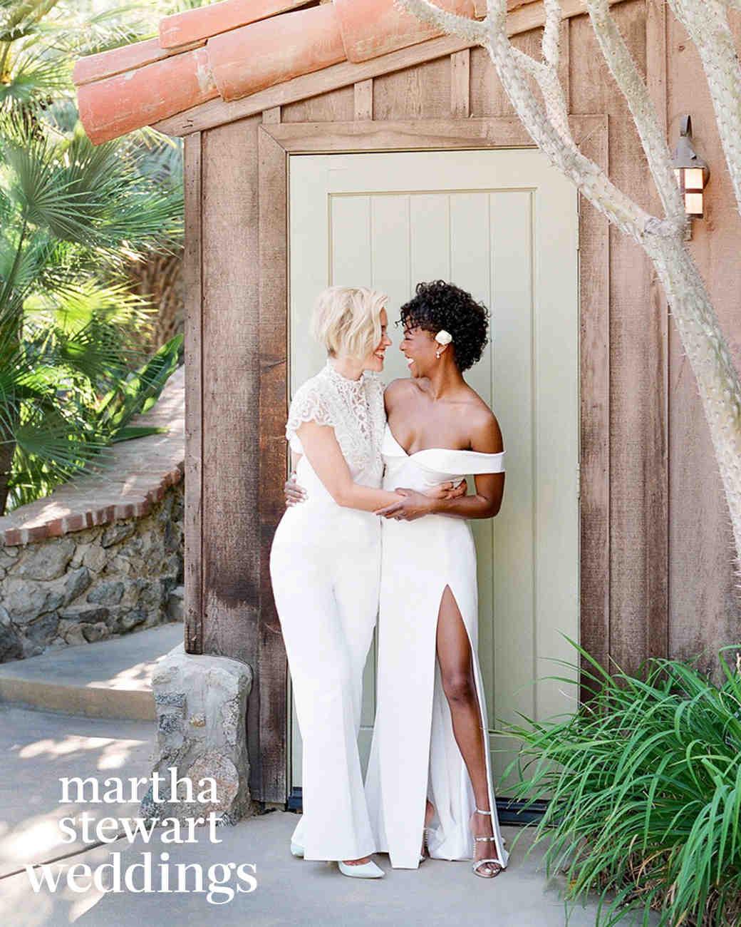 Exclusive See Samira Wiley And Lauren Morelli S Incredible Wedding Photos Martha Stewart Weddings