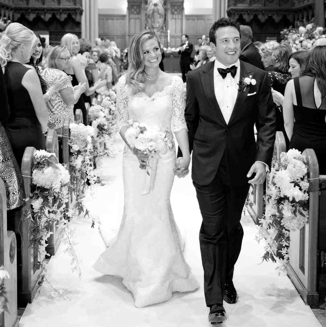 bride groom recessional