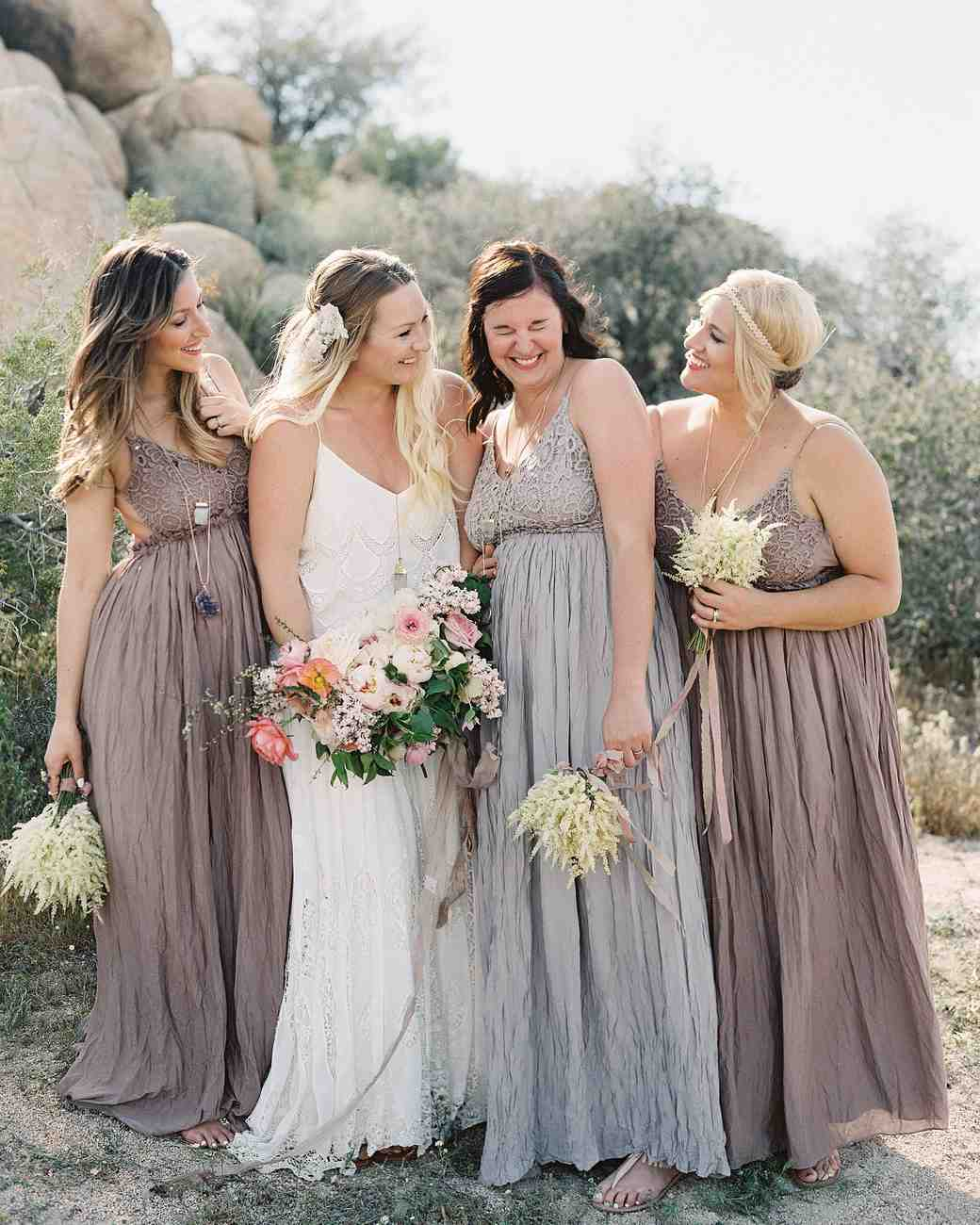 An Intimate, Boho Wedding In The California Desert