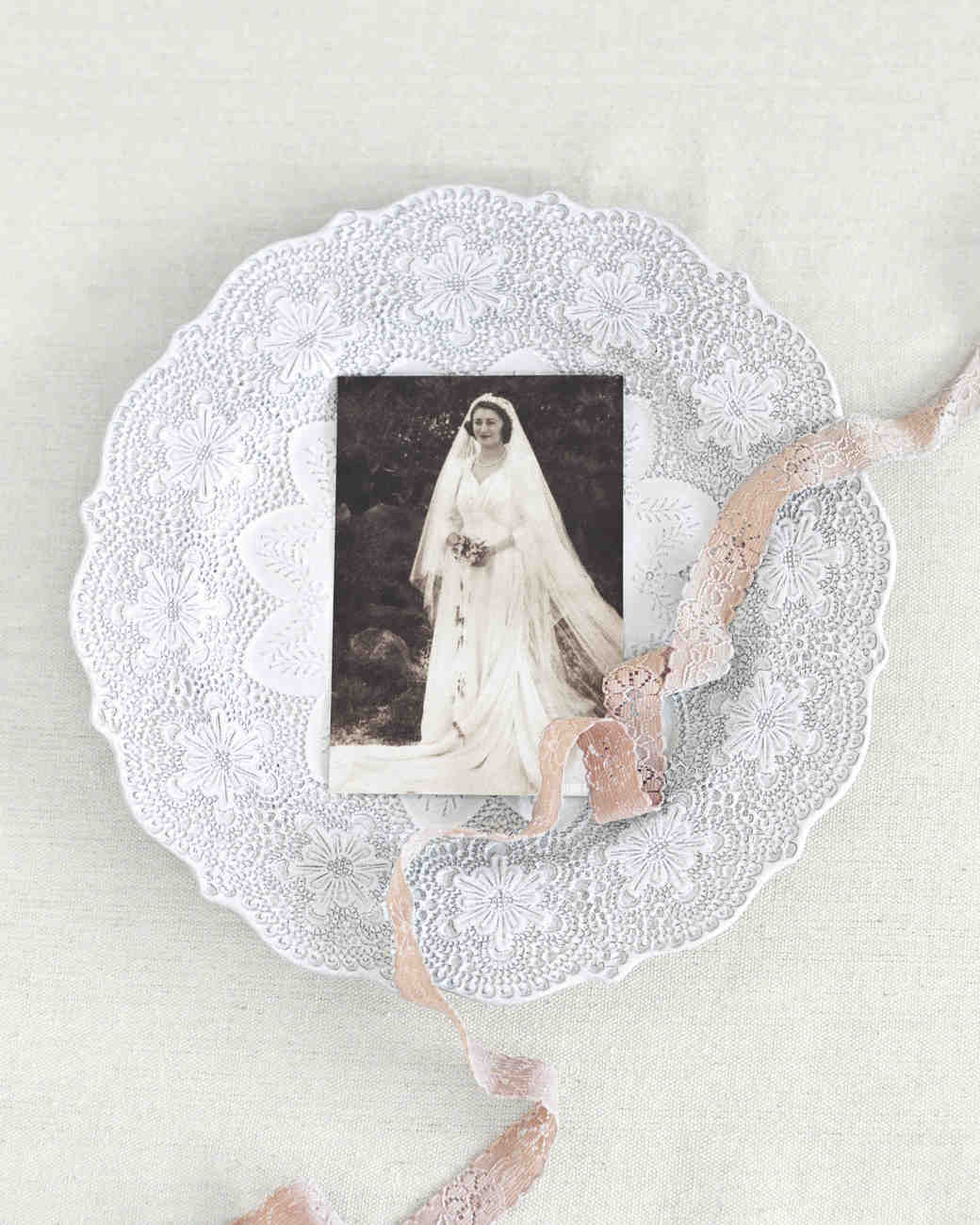 Photograph of Grandmother as Bride