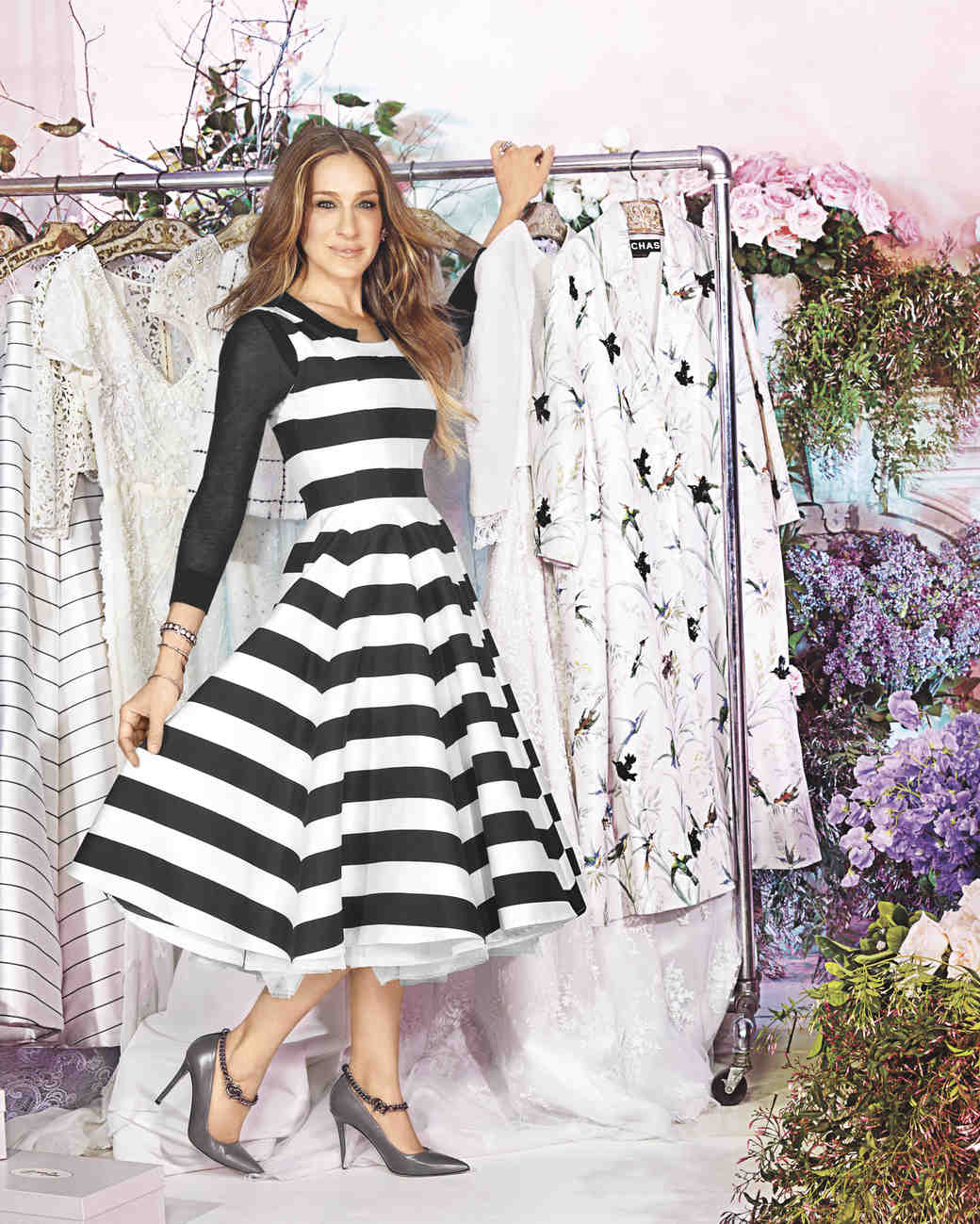 Sarah jessica parker s tips for stepping up your wedding for Sarah jessica parker wedding dress