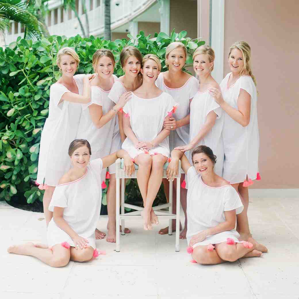 Bridesmaids' Robes Alternatives to Set You and Your 'Maids Apart