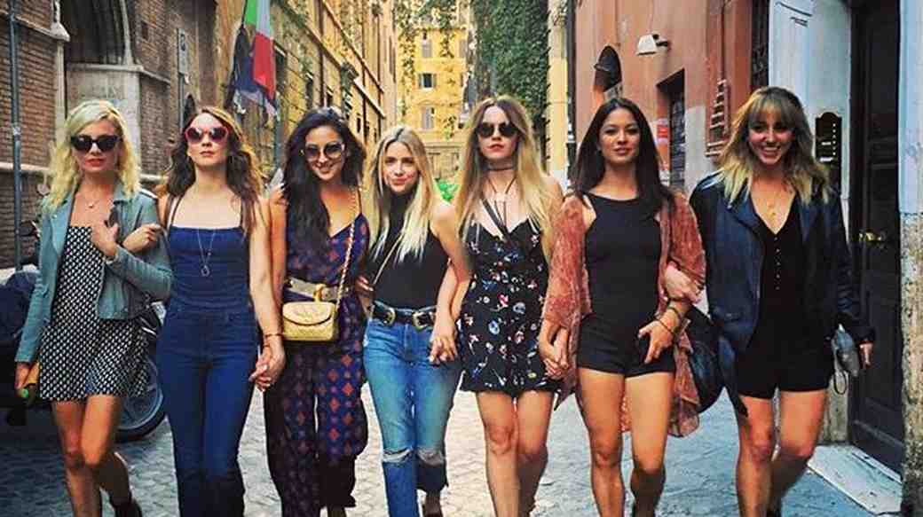 Troian Bellisario on her bachelorette party getaway with friends and Pretty Little Liars costars