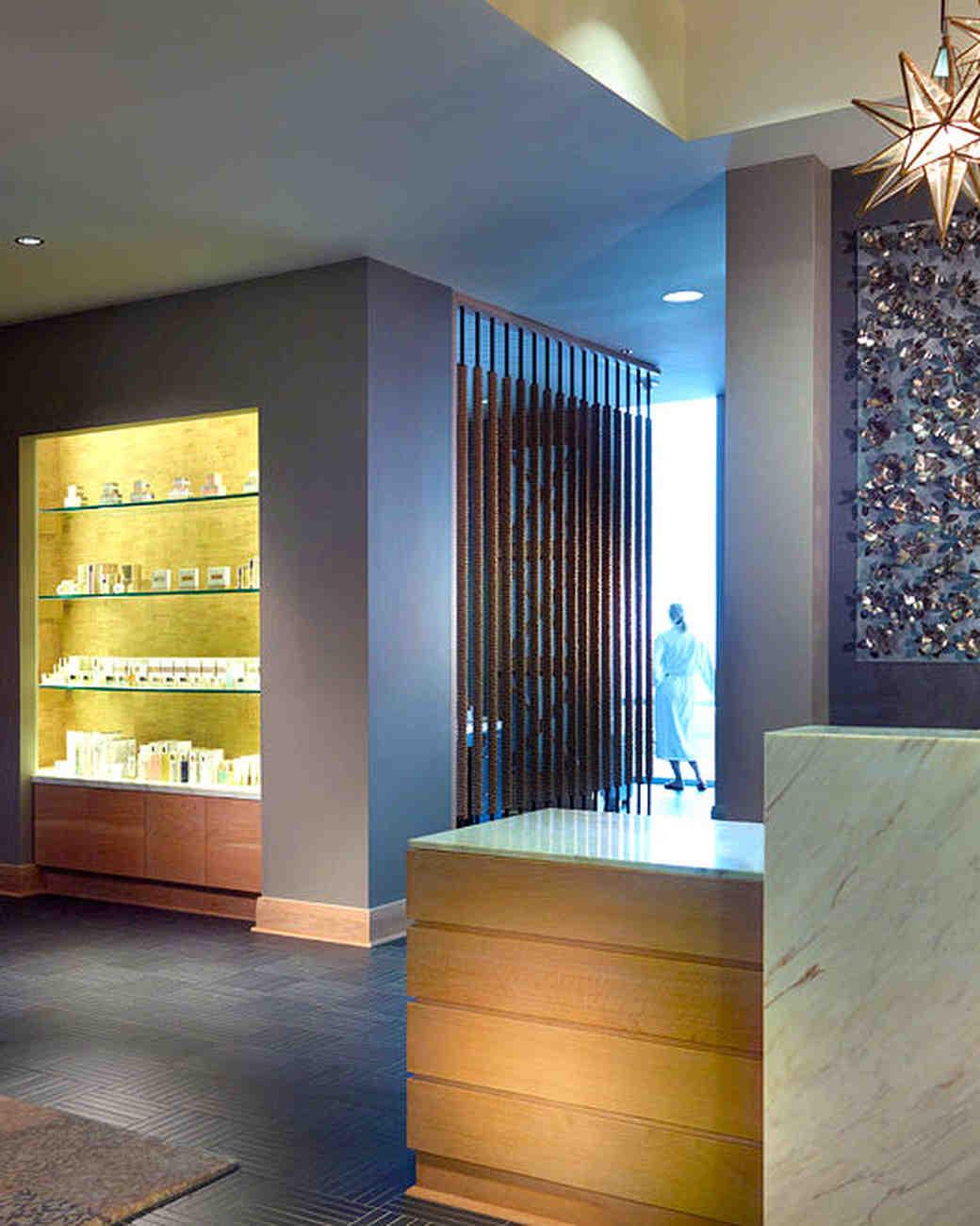salon and spa lobby