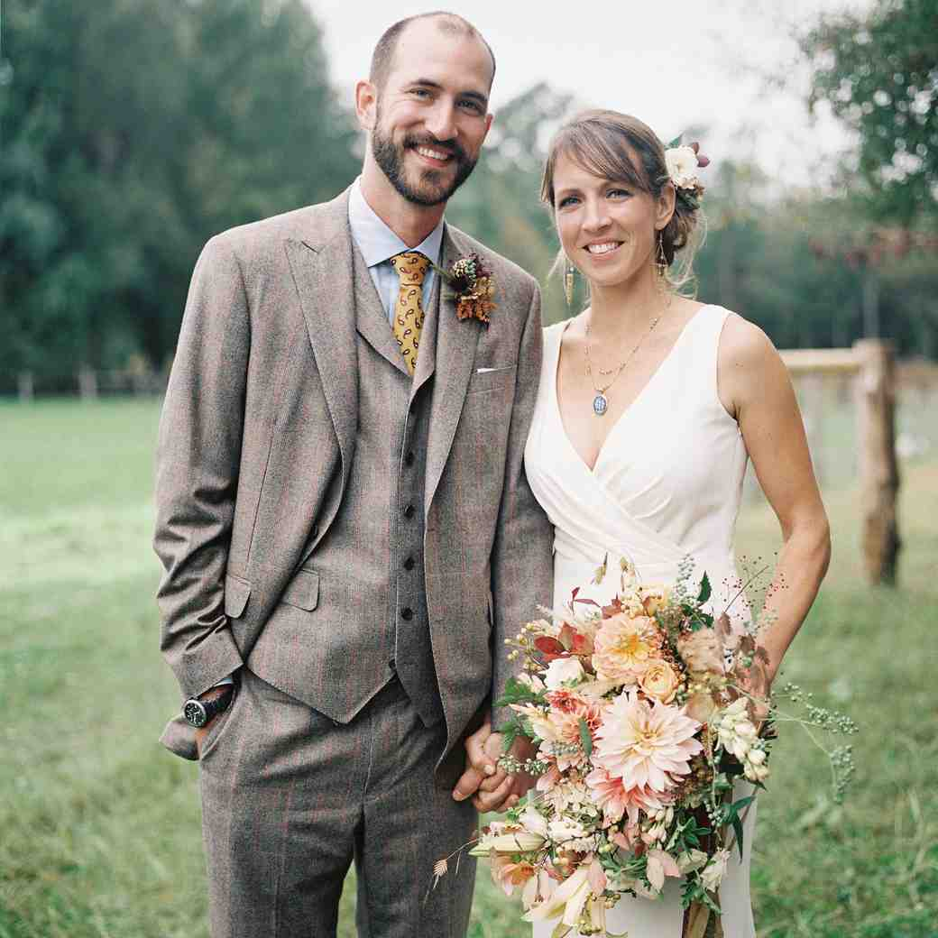 An Elegant-Meets-Rustic Farm Wedding in North Carolina