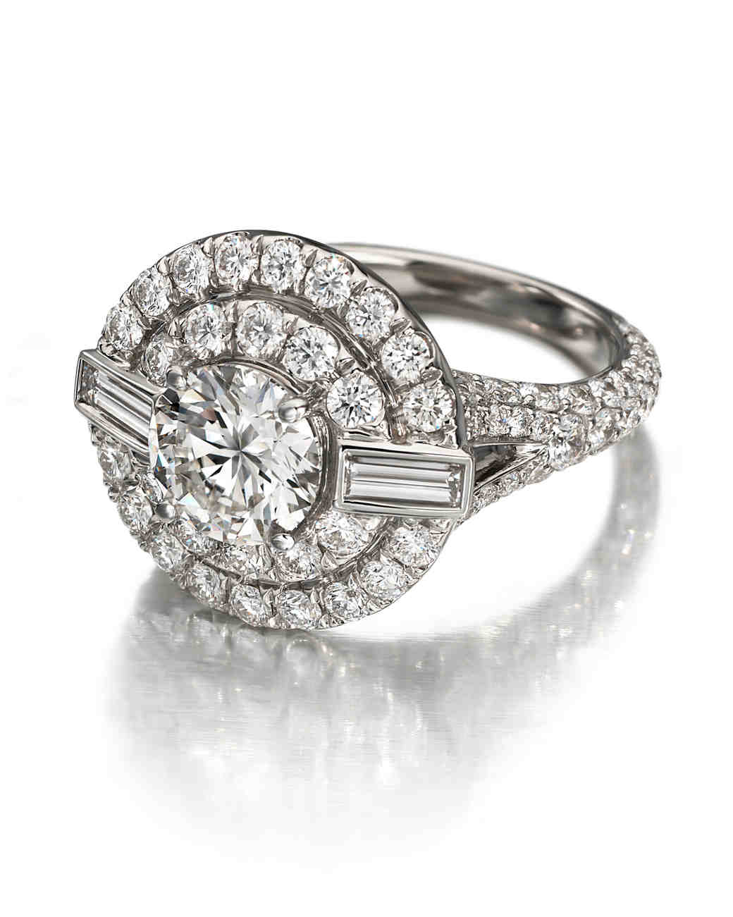 Forevermark by Maria Canale vintage-inspired art deco engagement ring