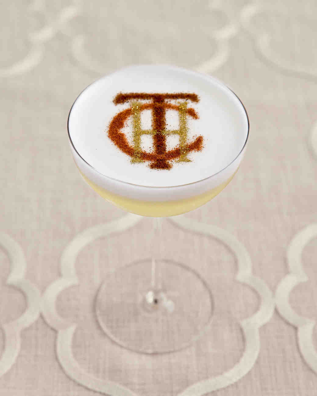 Monogrammed Cocktail