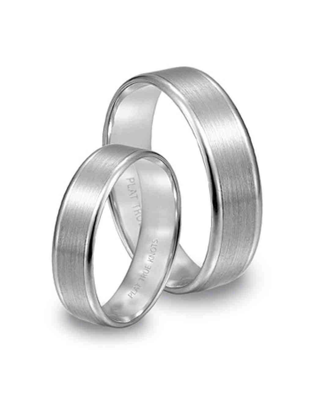 Platinum Wedding Bands Martha Stewart Weddings