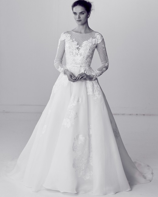 Long Sleeve Wedding Dresses We Love Martha Stewart Weddings