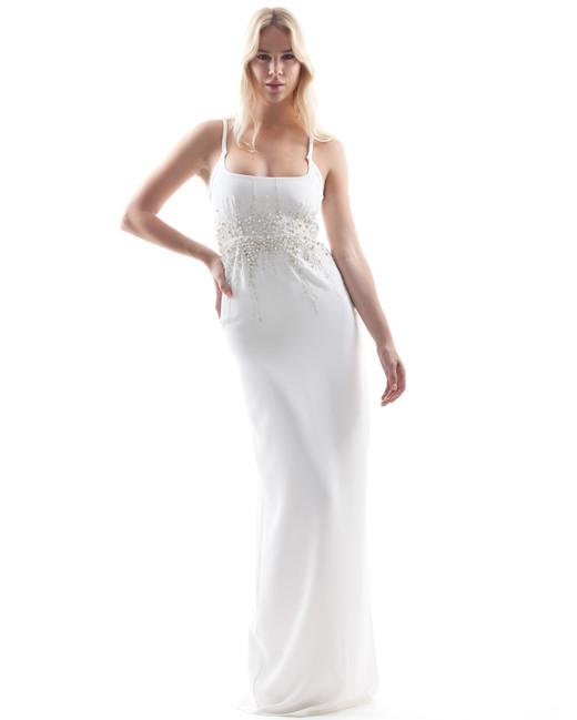 houghton wedding dress spring 2018 beaded