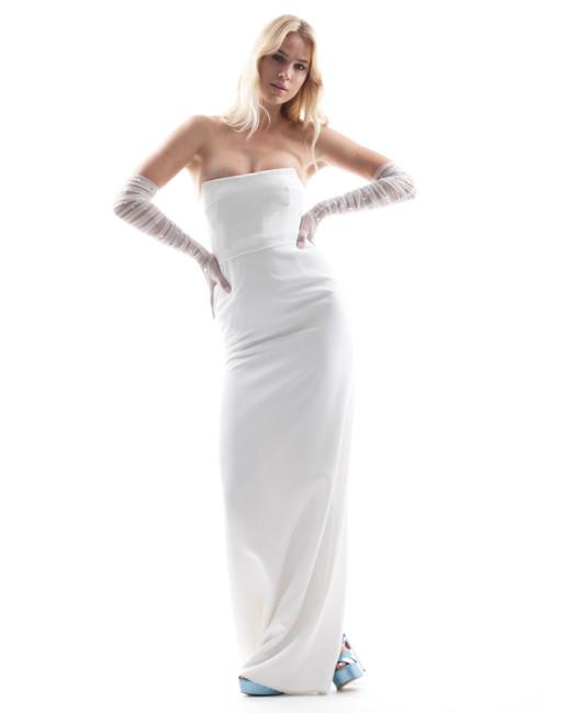 strapless houghton wedding dress spring 2018
