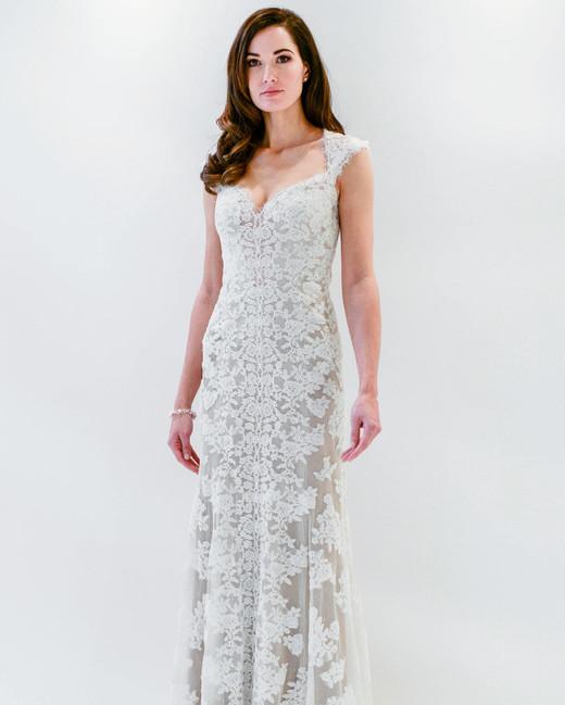 watters wtoo lace sheath sleeveless wedding dress spring 2018
