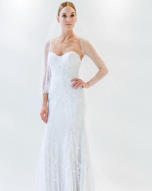 watters sweetheart veil wedding dress spring 2018