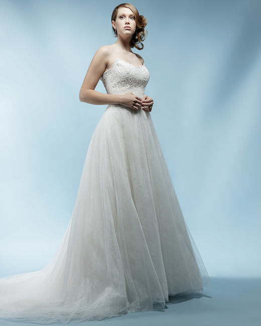 tulle sweetheart ivy aster wedding dress spring2018