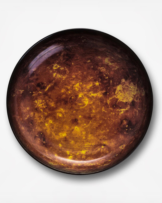 salad plate bronse