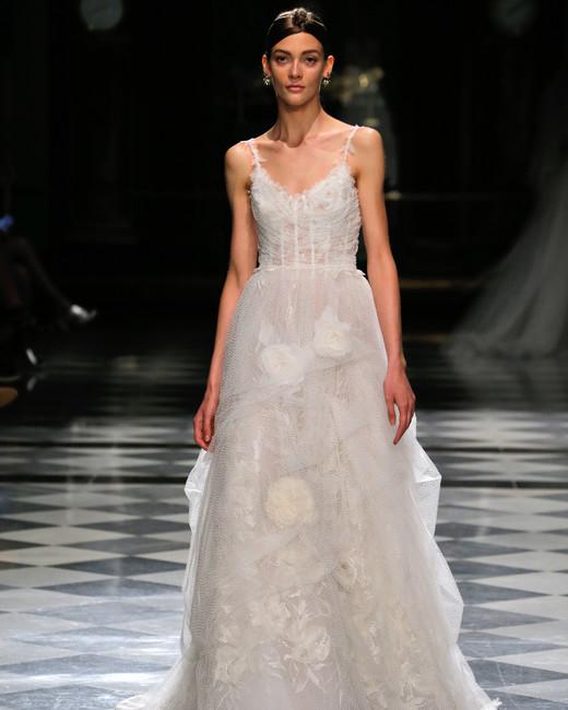 yolancris spaghetti strap a-line wedding dress spring 2018