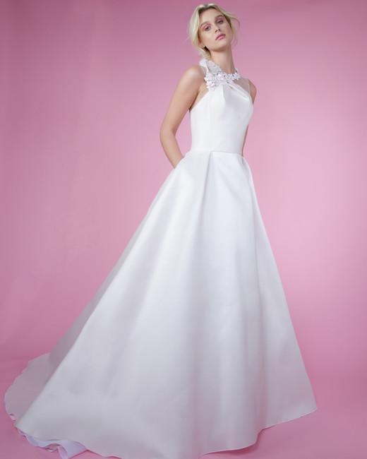 angel sanchez a line spring 2018 wedding dress