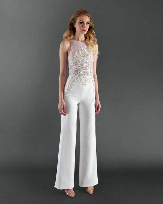 randi rahm pantsuit wedding dress spring 2018