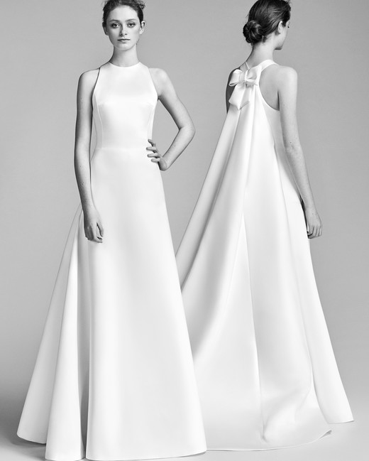 Viktor&Rolf Wedding Dress with High Neck Spring 2018