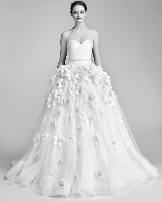 Strapless Viktor&Rolf Ball Gown Wedding Dress Spring 2018
