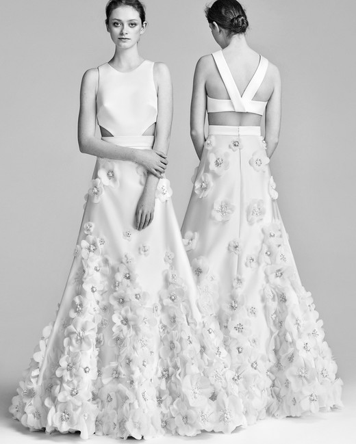 Viktor&Rolf A-Line Wedding Dress with High Neck Spring 2018