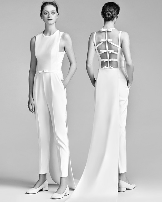 Viktor&Rolf Wedding Pant Outfit Spring 2018