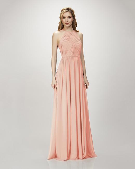 coral bridesmaid dress theia 910103 allison