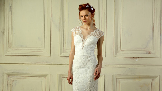 gemy maalouf lace wedding dress spring 2018