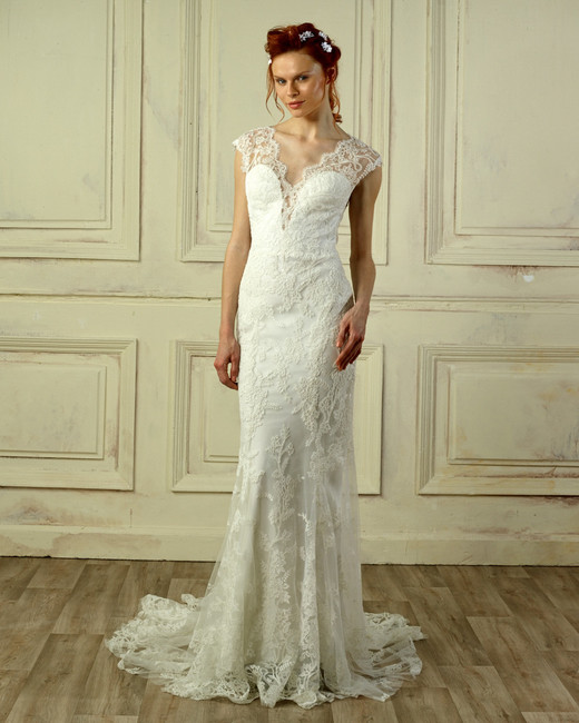 gemy maalouf lace wedding dress spring 2018
