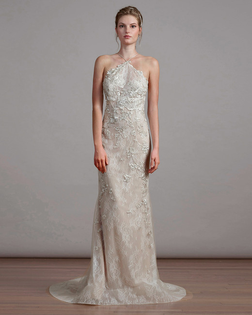 liancarlo spring 2018 halter wedding dress