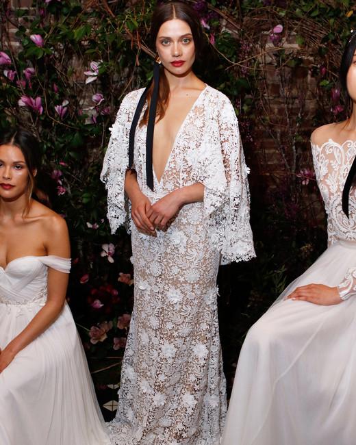 lace sheath sarah seven wedding dress spring 2018