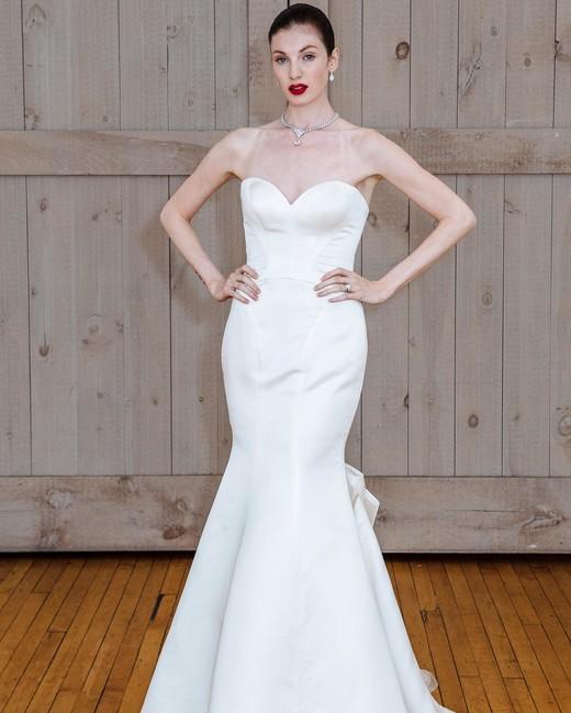 david's bridal mermaid wedding dress spring 2018