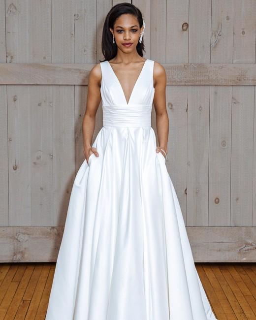 46 Pretty Wedding Dresses with Pockets | Martha Stewart Weddings
