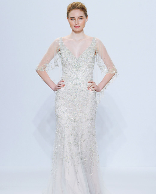 randy fenoli sheer sleeves wedding dress spring 2018