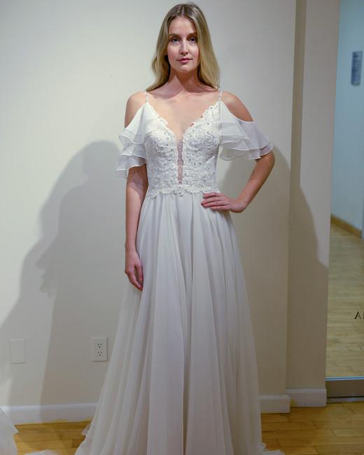 eve of milady off-shoulder wedding dress spring 2018