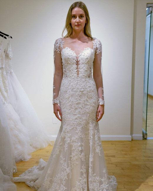 eve of milady long sleeves wedding dress spring 2018