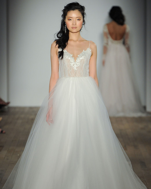 jim hjelm by hayley paige ball gown wedding dress spring 2018