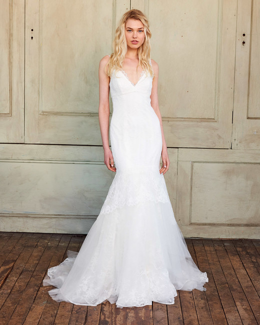 amsale christos lace trumpet wedding dress spring 2018