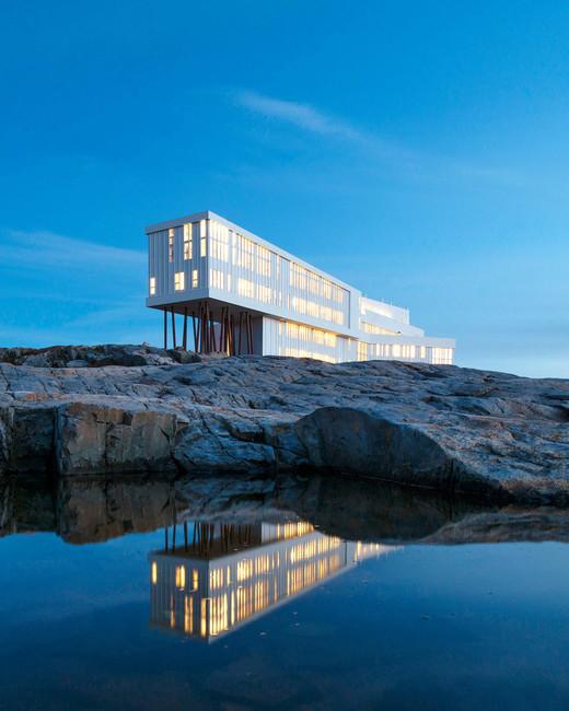 travel newfoundland fogo island inn hotel