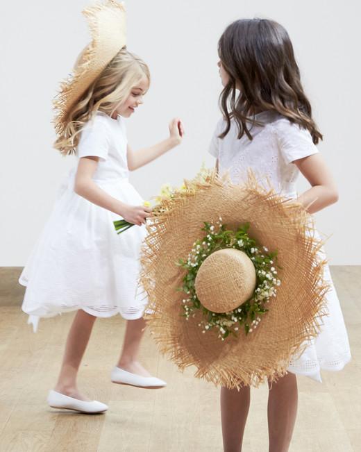 flower girl dresses Oscar de la Renta Spring 2018 Wedding Dress Collection