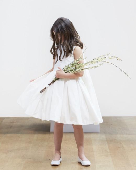 flower girl Oscar de la Renta Spring 2018 Wedding Dress Collection