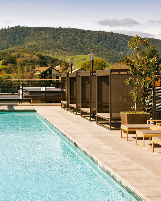 napa valley bachelorette bardessono hotel and spa