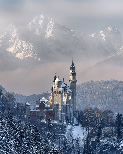 romantic destination neuschwanstein castle germany