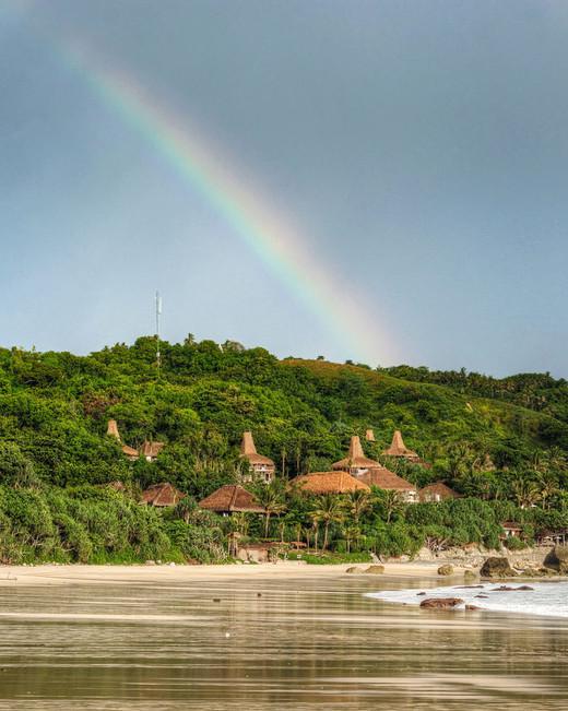 indonesia nihiwatu vilas beach