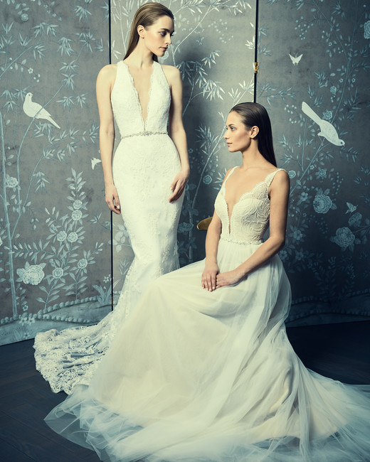 lace mermaid romona keveza legends wedding dresses spring2018